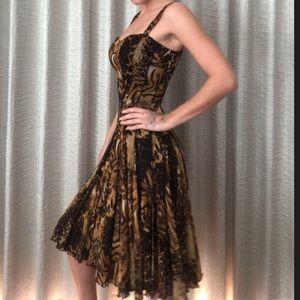 Dresses & Skirts - Elana Kattan jungle woman dress S